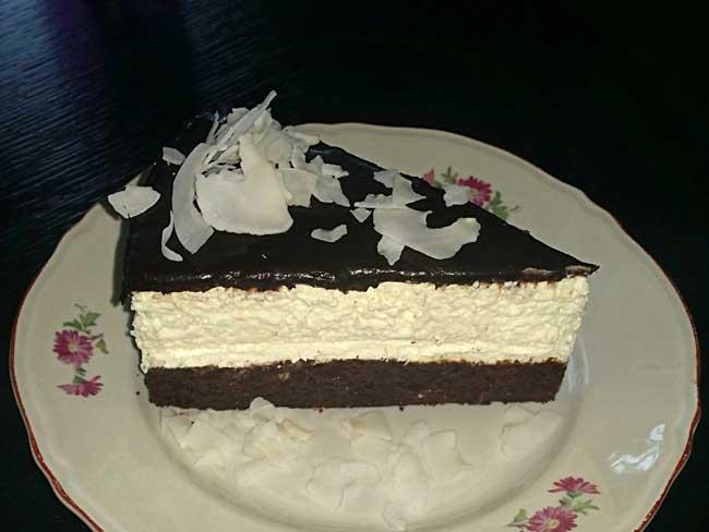 Kokosova torta s čokolado