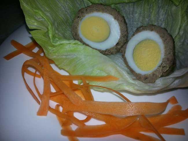 Mesne štrukčke z jajci