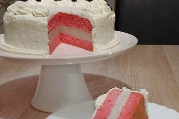 LCHF rdeča žametna torta
