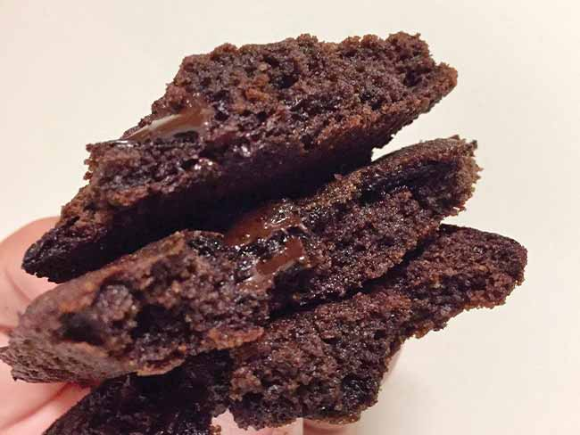 Mehki čokoladni piškoti