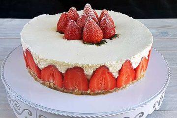 Skutna torta brez peke