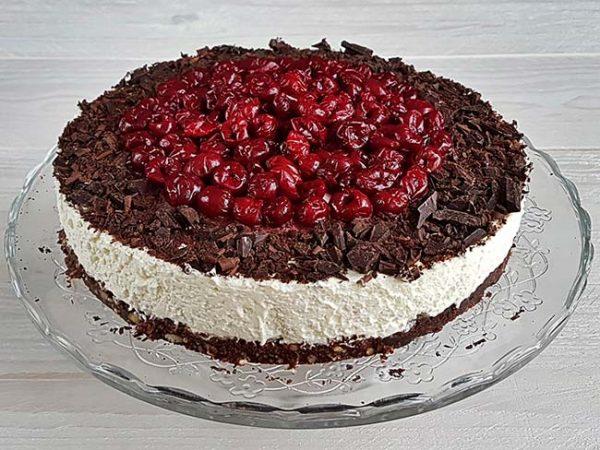 Schwarzwald skutna torta brez peke
