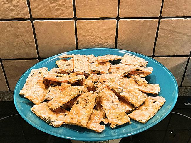 LCHF sirovi krekerji