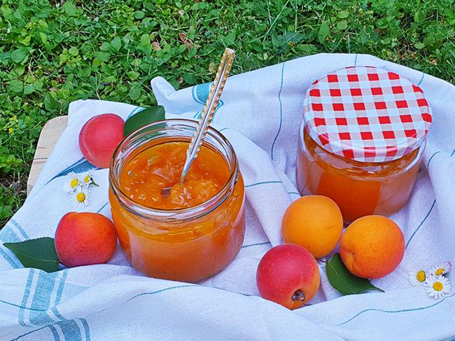 marelicna marmelada brez dodanega sladkorja